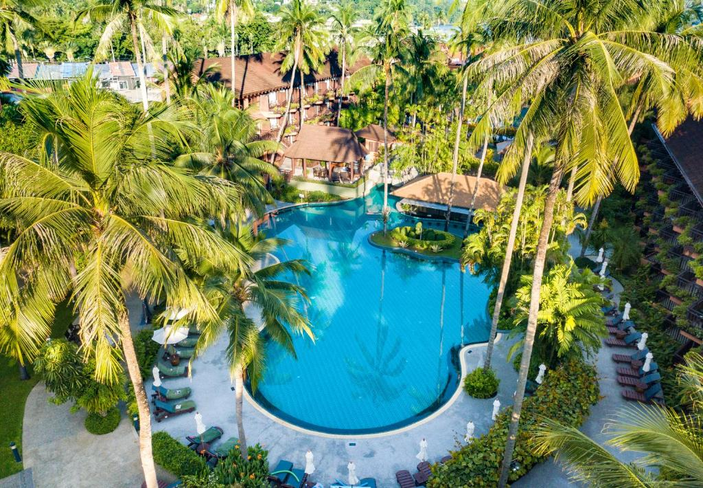 A view of the pool at Patong Merlin Hotel or nearby