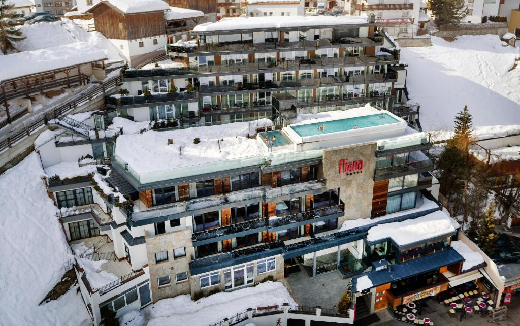 Hotel Fliana Ischgl during the winter