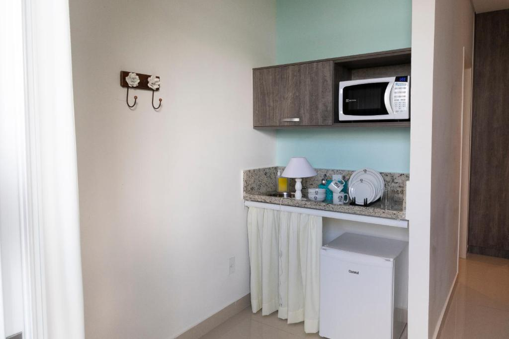 A kitchen or kitchenette at K Residence
