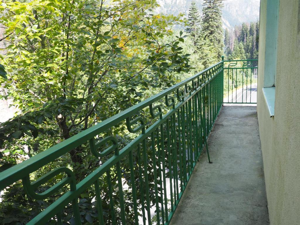 A balcony or terrace at Zvezdniy