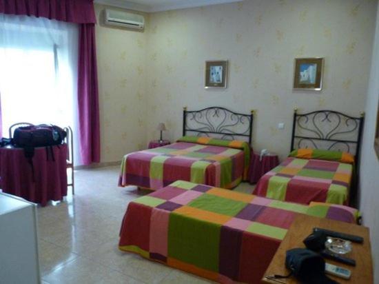 Katil atau katil-katil dalam bilik di Apartamento iluminado Melilla