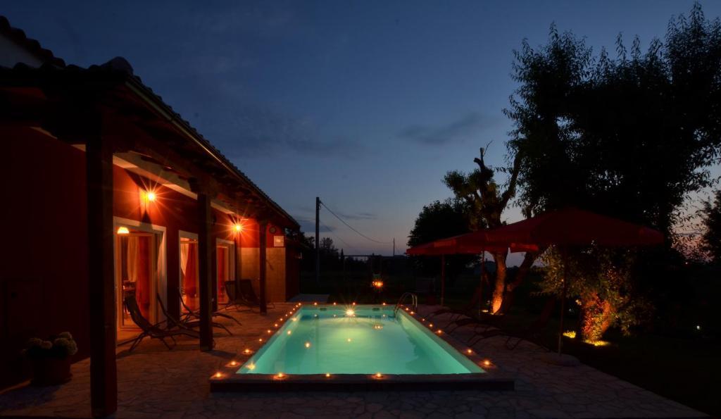 The swimming pool at or near Villa Parenzana
