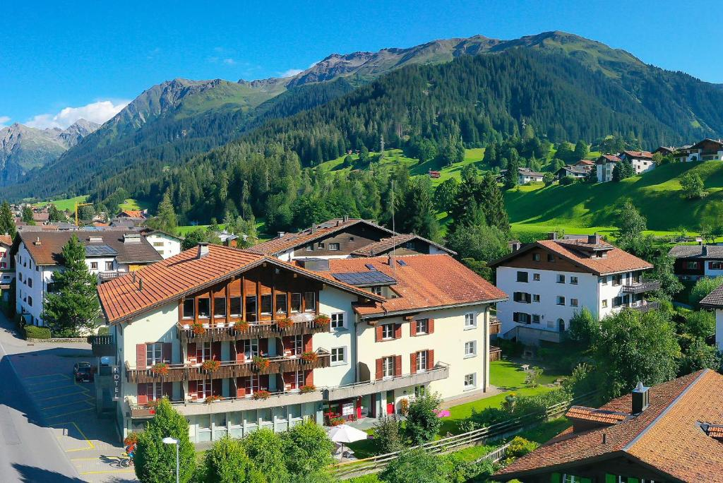 A bird's-eye view of Sport-Lodge Klosters