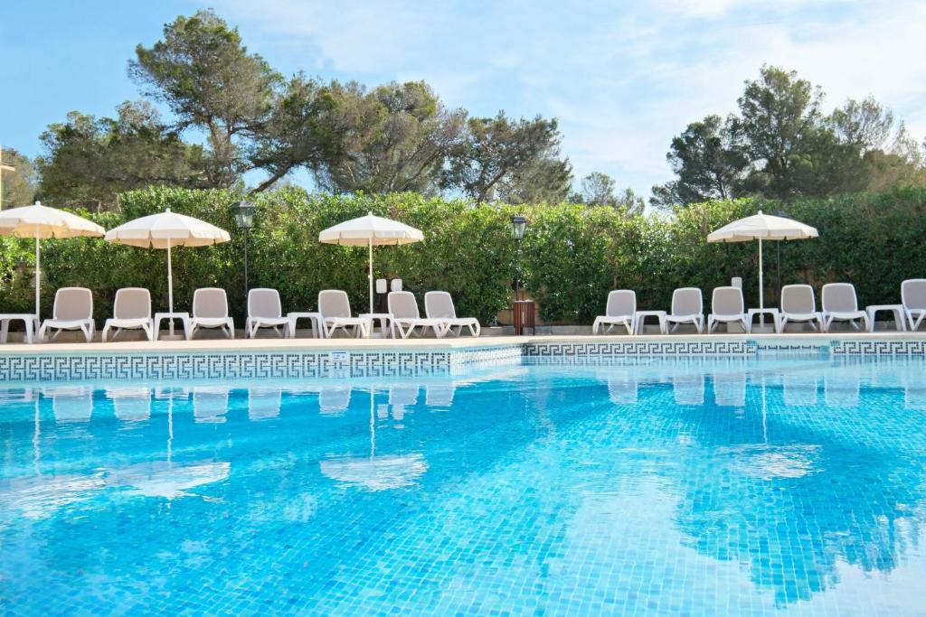 The swimming pool at or near azuLine Hotel Bahamas y Bahamas II