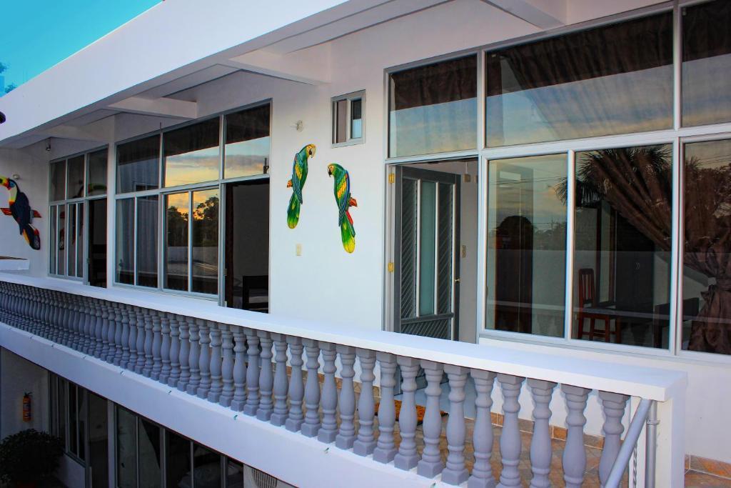 Un balcón o terraza de Casa Hotel Maüne