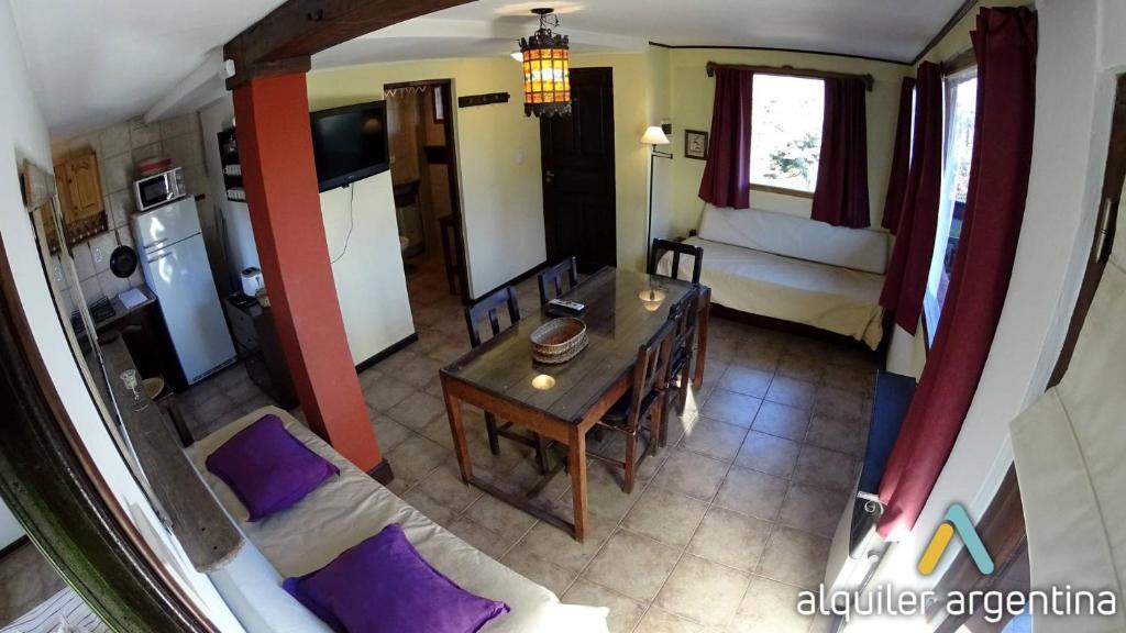 Un lugar para sentarse en Bariloche alojamiento