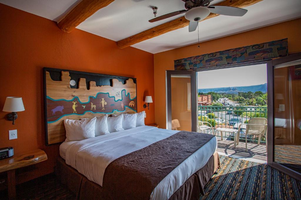Cama o camas de una habitación en Southwest Inn at Sedona
