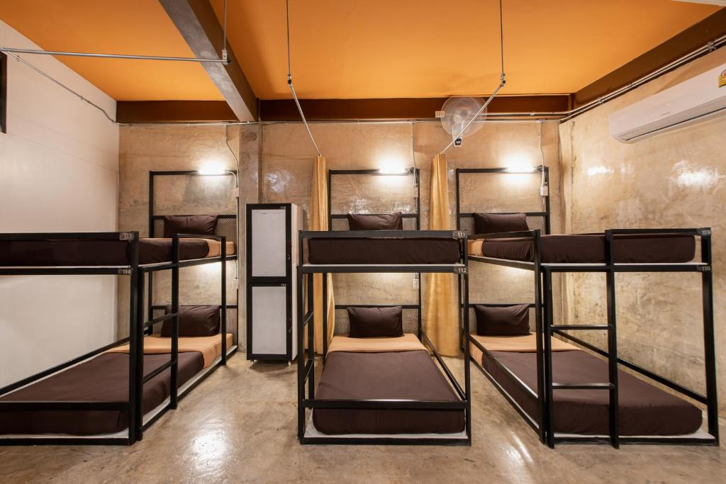 Litera o literas de una habitación en The Alley Hostel&Bistro