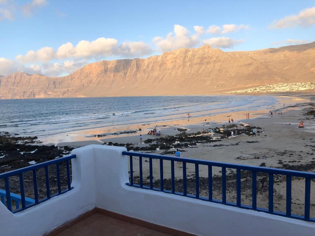 Balkon lub taras w obiekcie Playa de Caleta de Famara