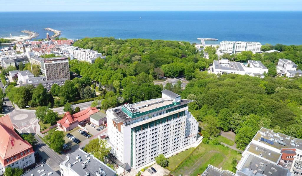A bird's-eye view of Apartamenty Proeko Polonia