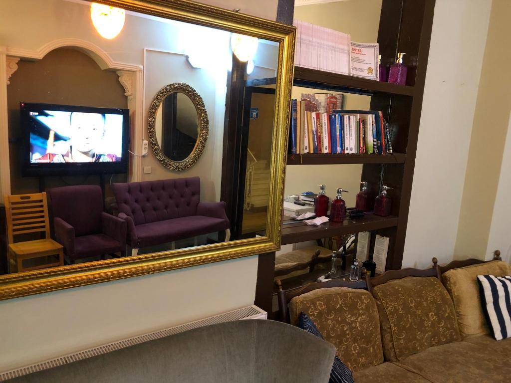 Гостиная зона в Cezayir Butik Otel