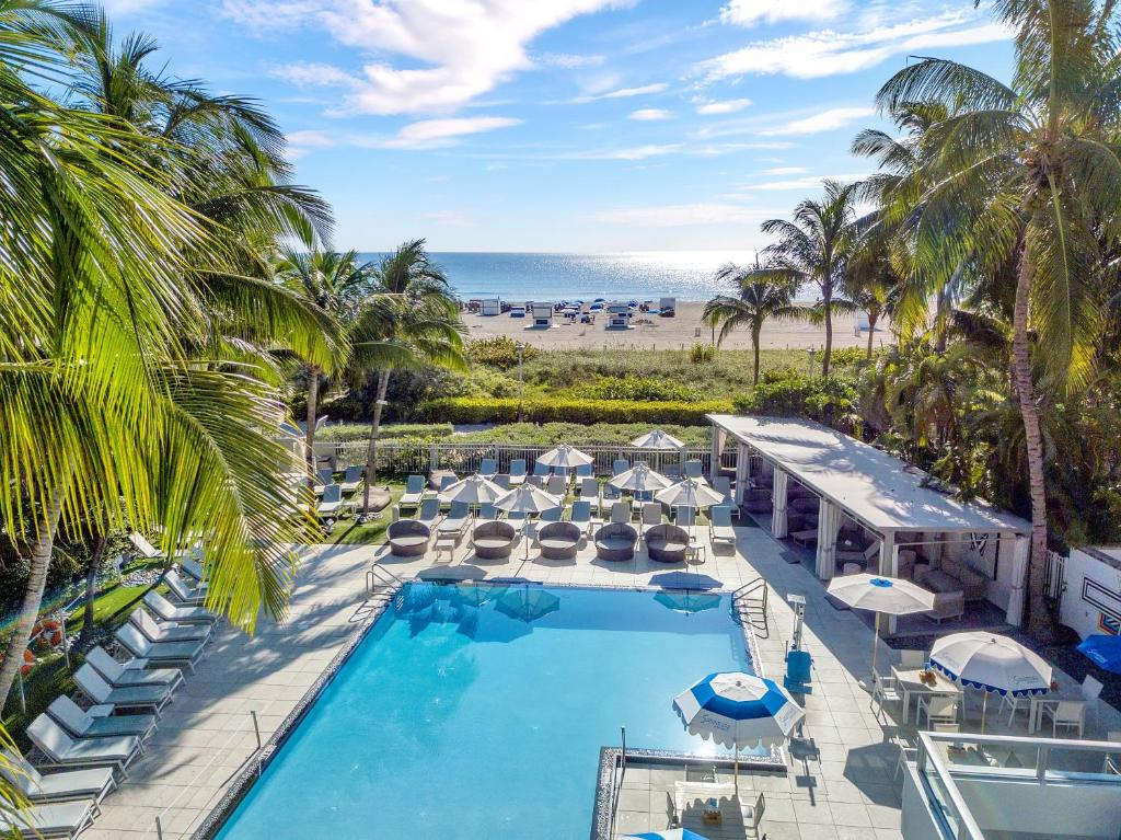 A view of the pool at The Sagamore Hotel South Beach or nearby