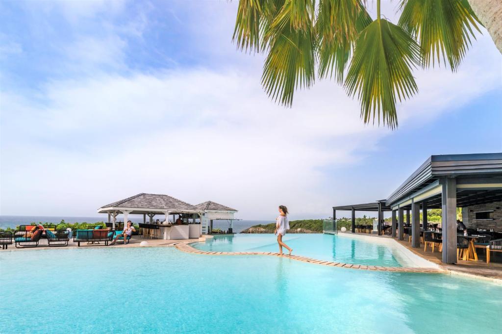 La Toubana Hotel Spa Sainte Anne Guadeloupe Booking Com