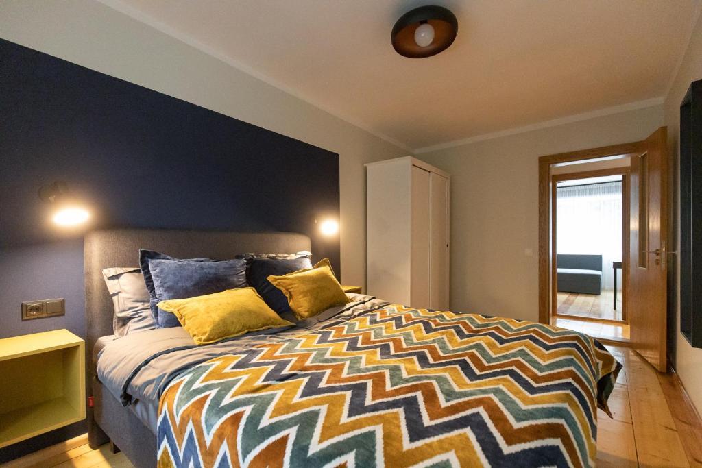 Gulta vai gultas numurā naktsmītnē City center Gauja apartment