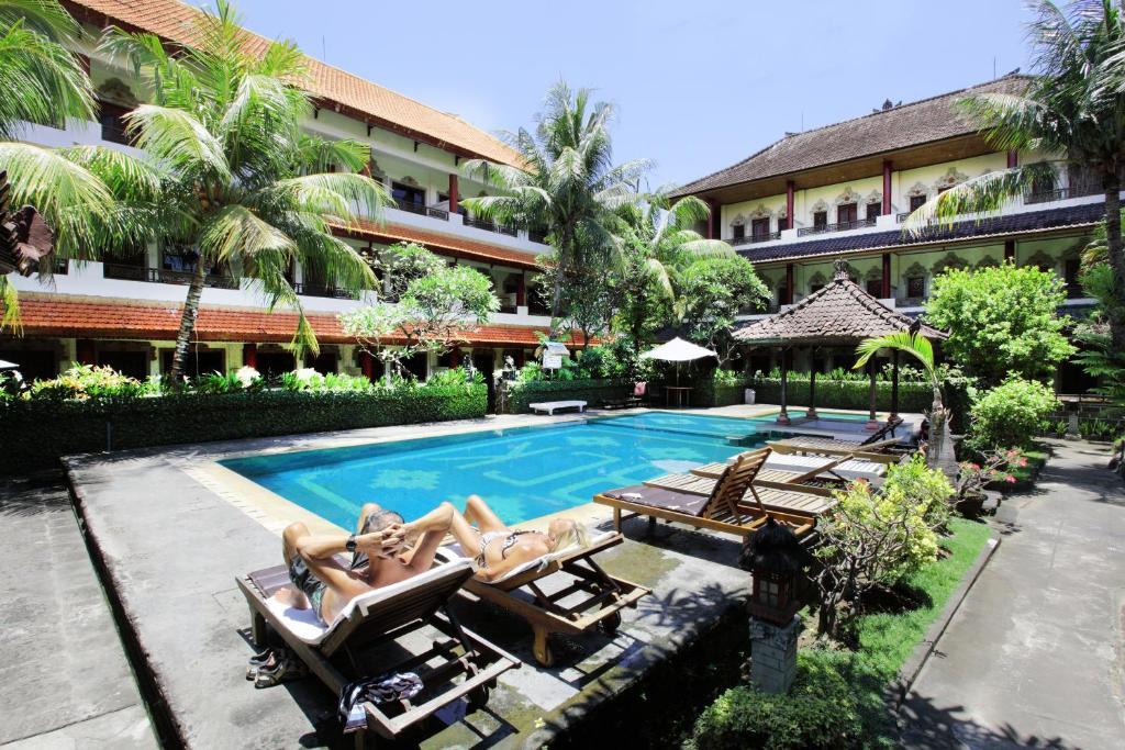 The swimming pool at or near Bakung Sari Resort and Spa