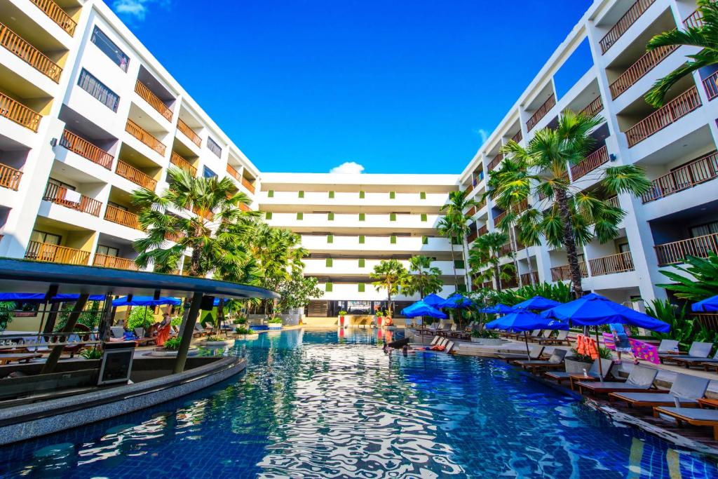 The swimming pool at or near Deevana Plaza Phuket