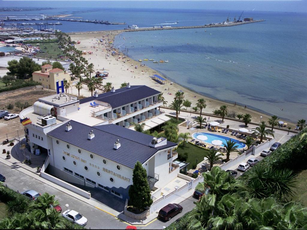 A bird's-eye view of Hotel Miami Mar