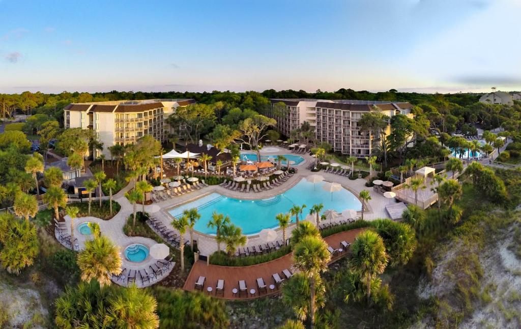 A view of the pool at Omni Oceanfront Resort Hilton Head Island or nearby