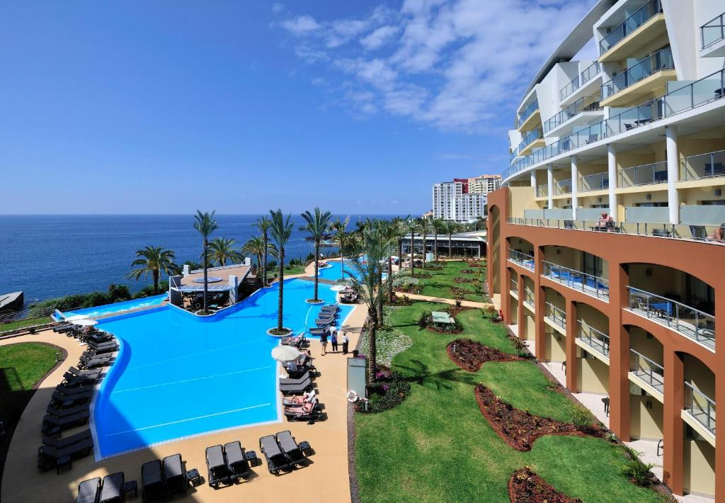 A view of the pool at Pestana Promenade Ocean Resort Hotel or nearby