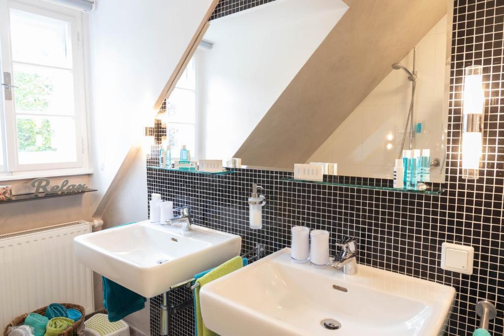 Ein Badezimmer in der Unterkunft Villa Leopoldskron