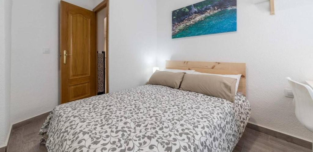 A bed or beds in a room at Podgorica Central Hostel