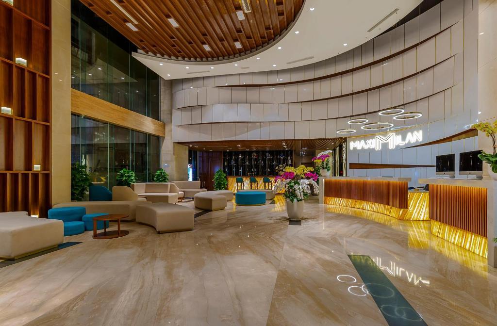 Khu vực sảnh/lễ tân tại MAXIMILAN DANANG BEACH HOTEL