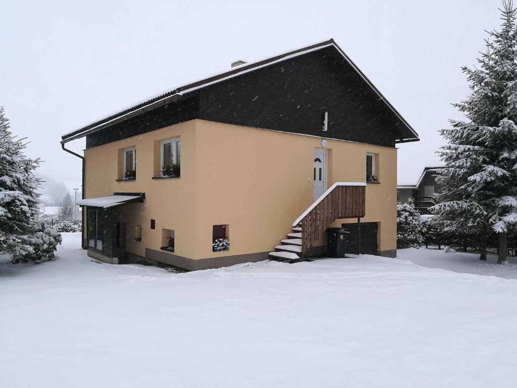 Vila Marianna v zimě