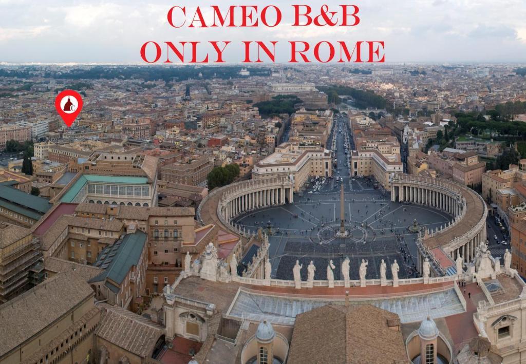 Apgyvendinimo įstaigos Cameo B&B vaizdas iš viršaus