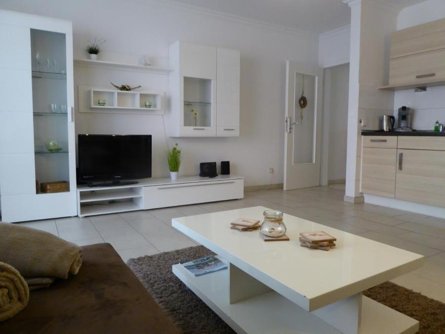 A seating area at Naturdüne Wohnung 3