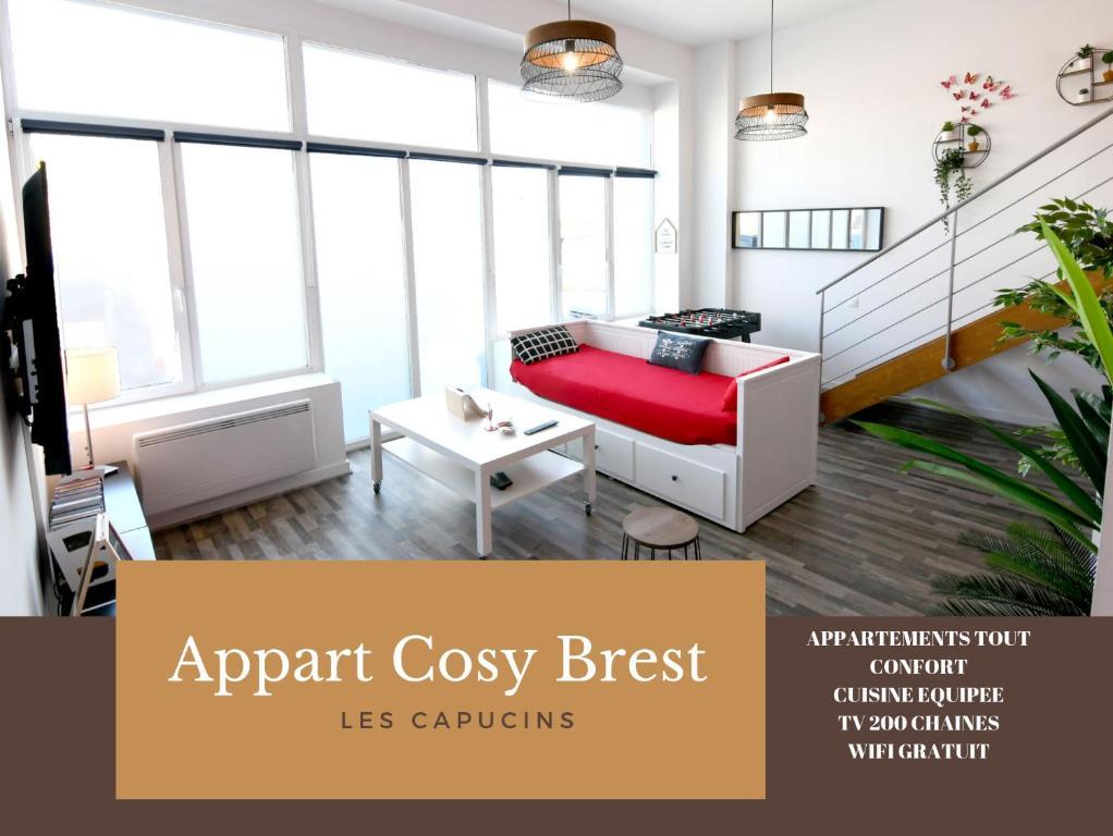 Apartment Appart Cosy Brest Les Capucins France Booking Com
