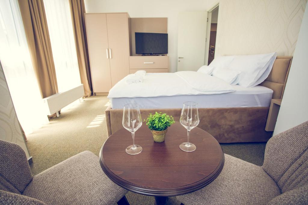 Krevet ili kreveti u jedinici u objektu Apartments and Rooms Malbašić