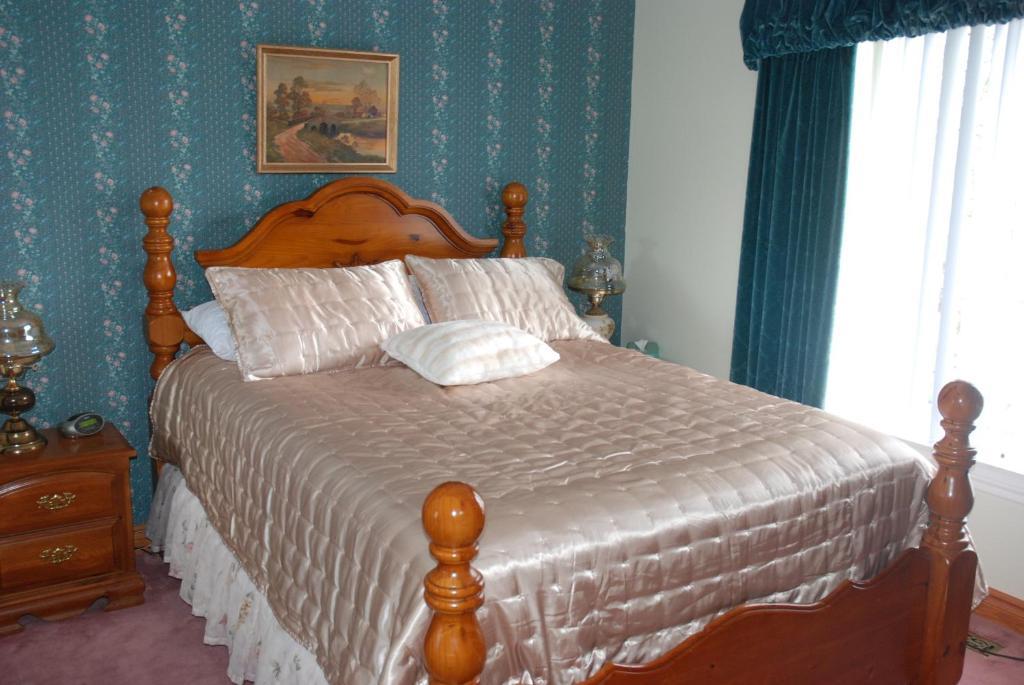 Cama o camas de una habitación en Stirling B&B