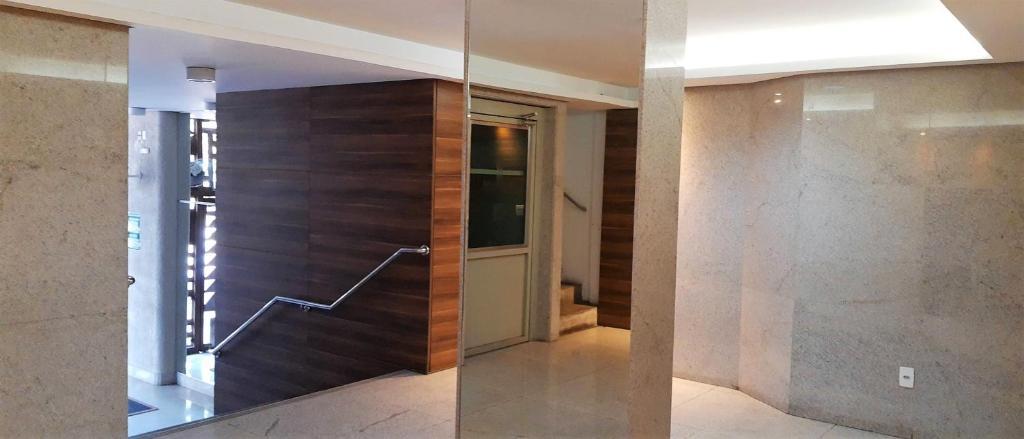 Een badkamer bij Pertim de tudo