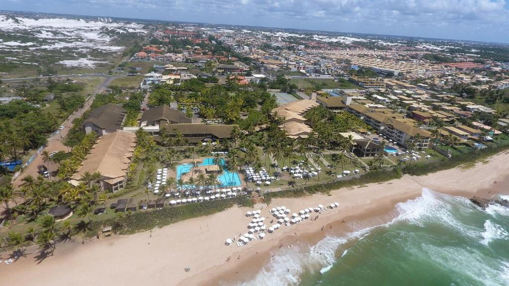 A bird's-eye view of Catussaba Resort Hotel