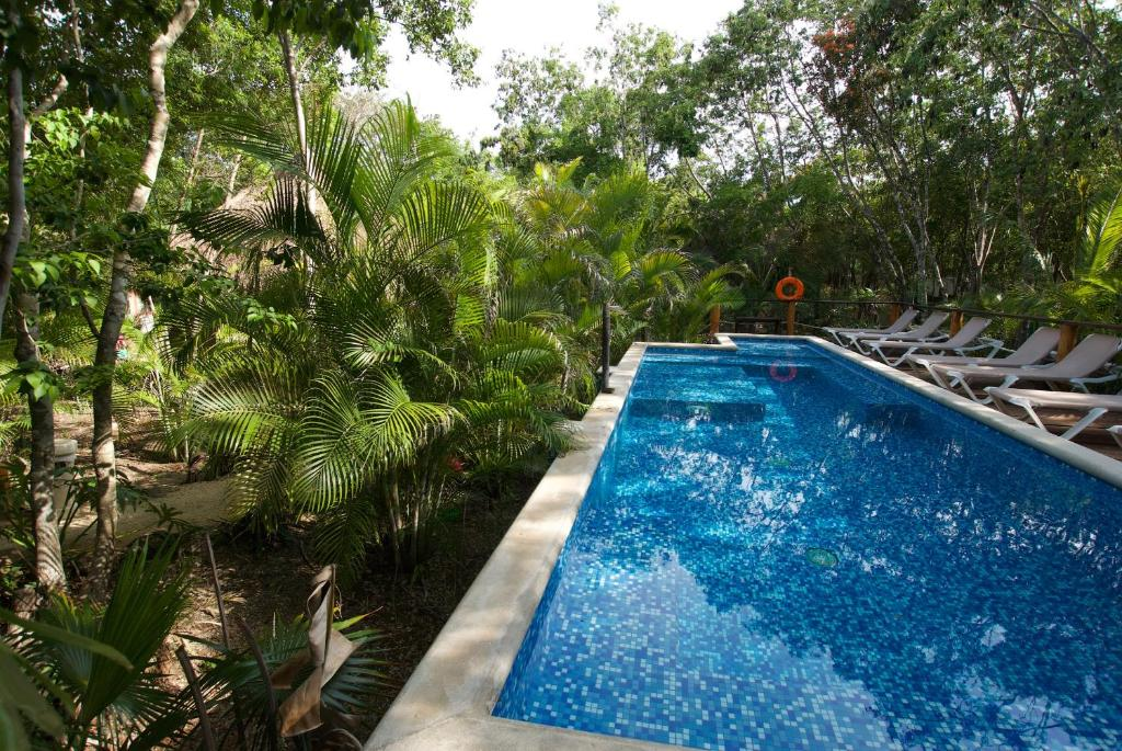 A view of the pool at Joy Tulum - Adults Only. or nearby