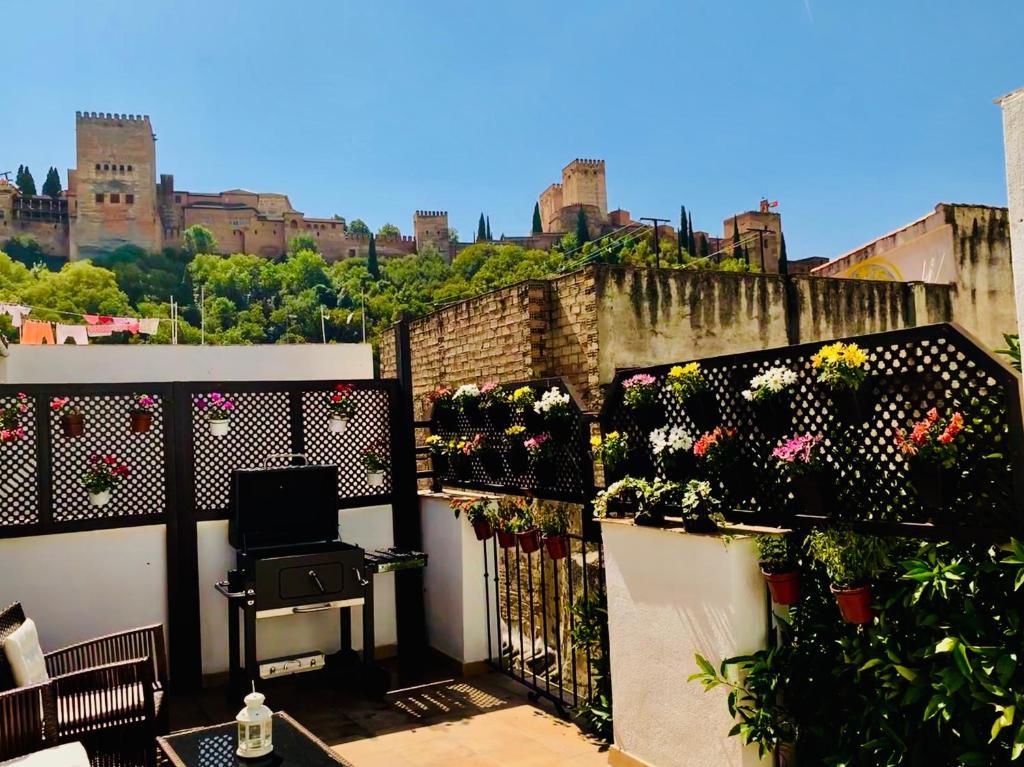 Vacation Home Arab House D Oro Alhambra Center Granada