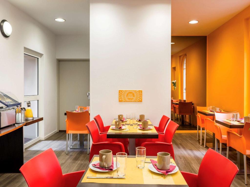 Restaurant ou autre lieu de restauration dans l'établissement Aparthotel Adagio Access Paris Philippe Auguste