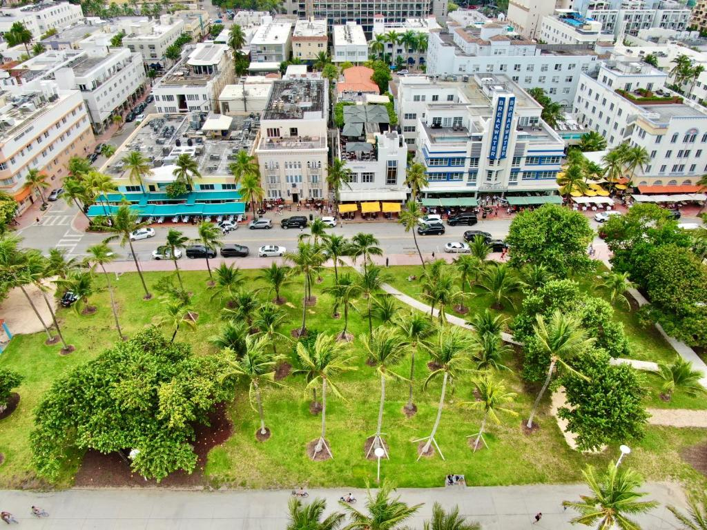 A bird's-eye view of Miami Party Hostel