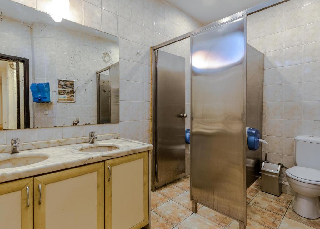 Ванная комната в Sanat Hostel Taksim