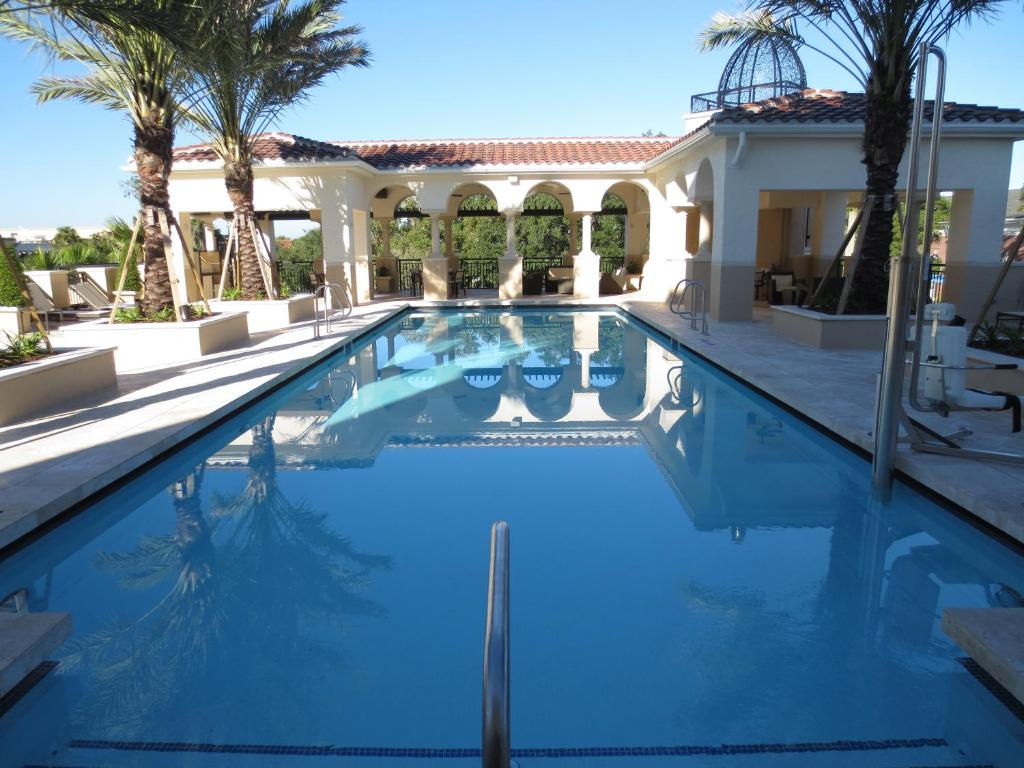 The swimming pool at or near The Alfond Inn