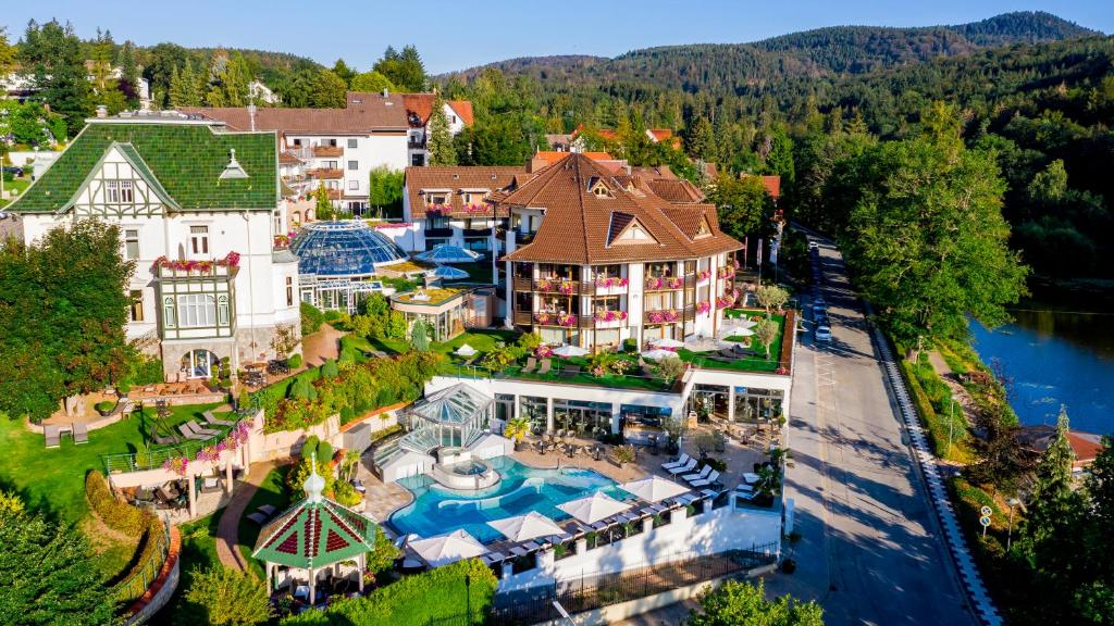 A bird's-eye view of Romantischer Winkel Spa & Wellness Resort