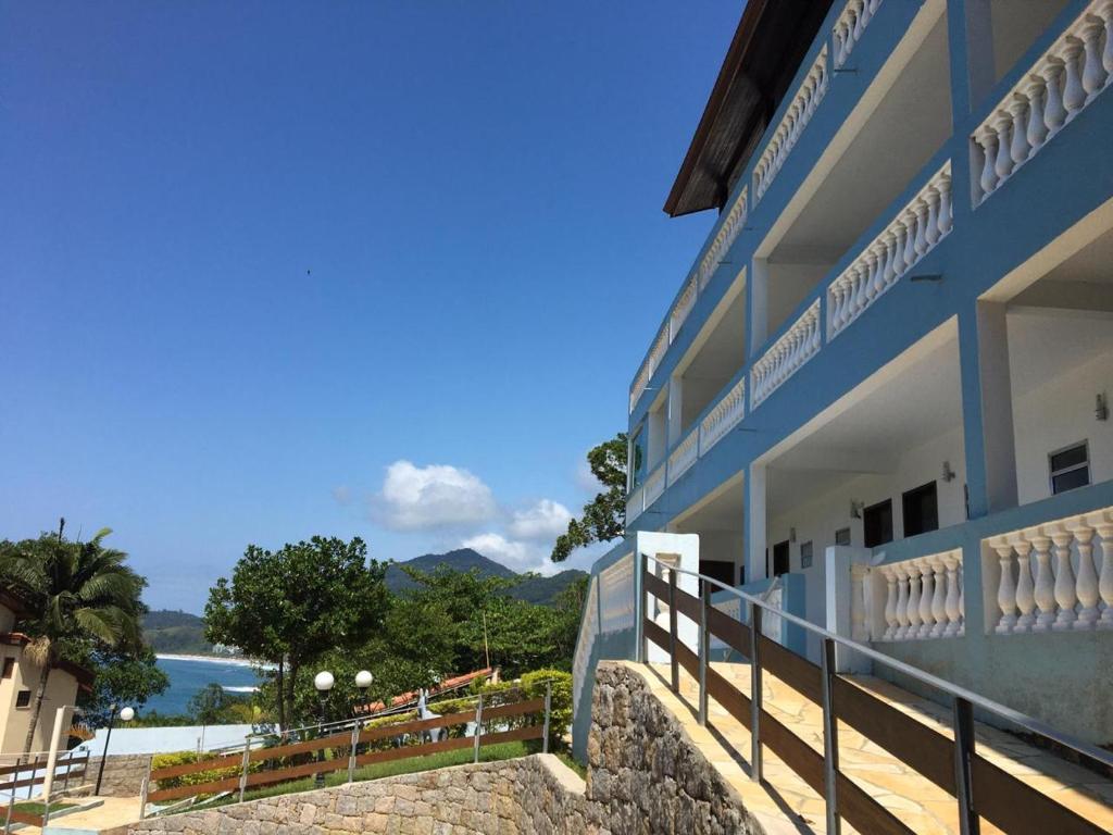 A balcony or terrace at Recanto do Teimoso