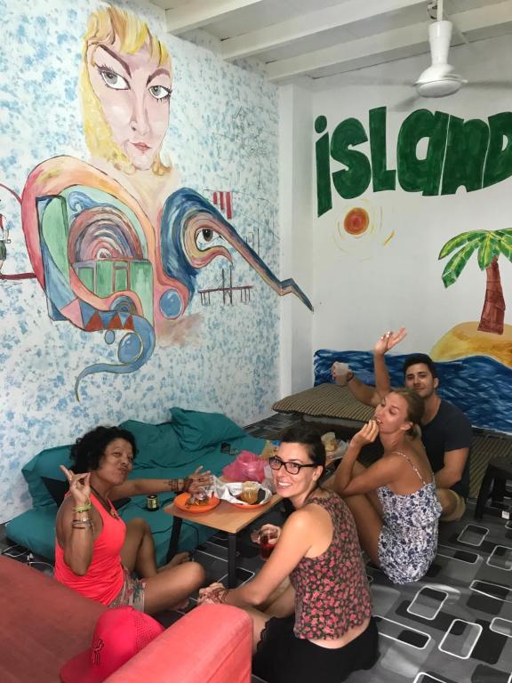Guests staying at B&L Islanders Inn