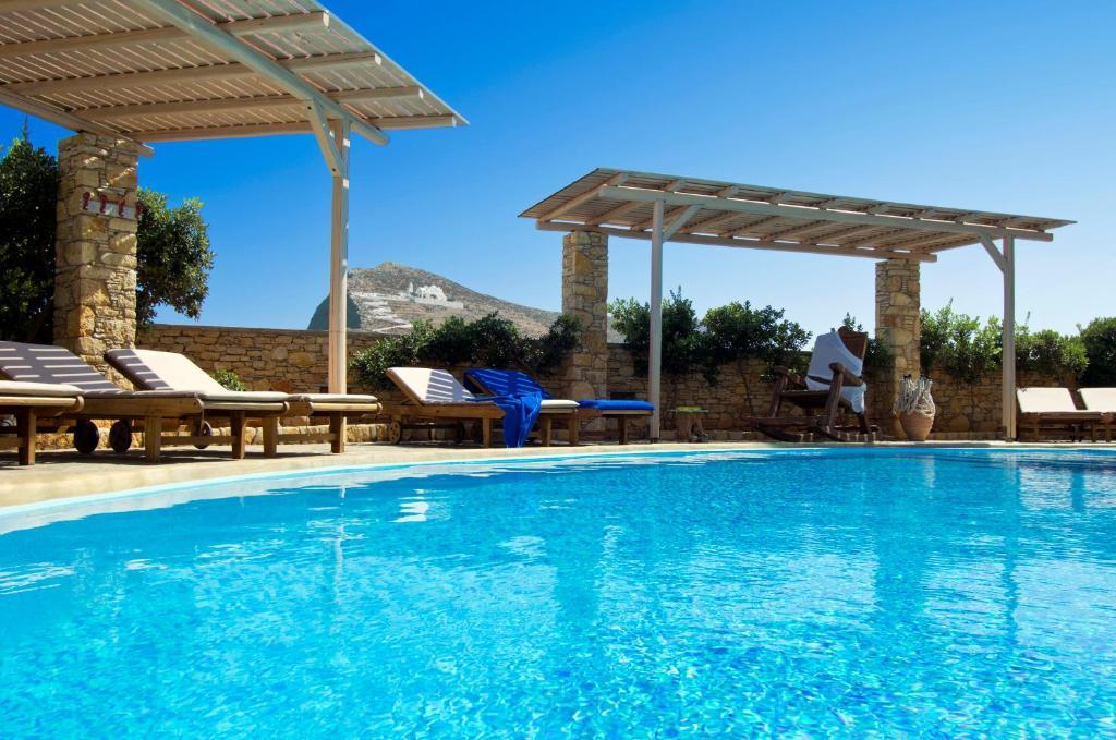 The swimming pool at or near Kallisti Hotel