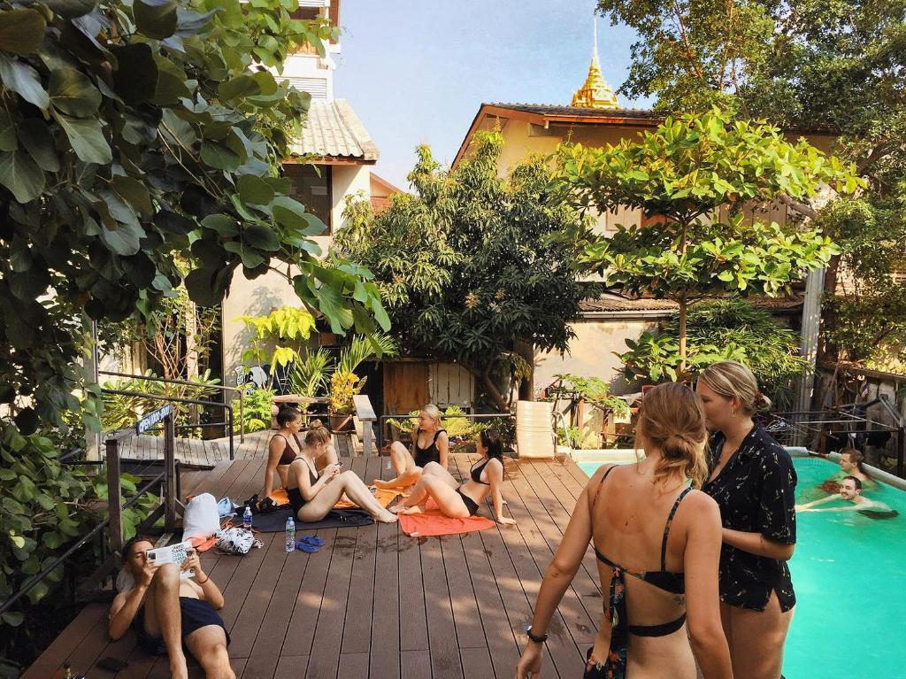 Incredible Here Hostel Bangkok Thailand Bangkok Booking Com Lamtechconsult Wood Chair Design Ideas Lamtechconsultcom