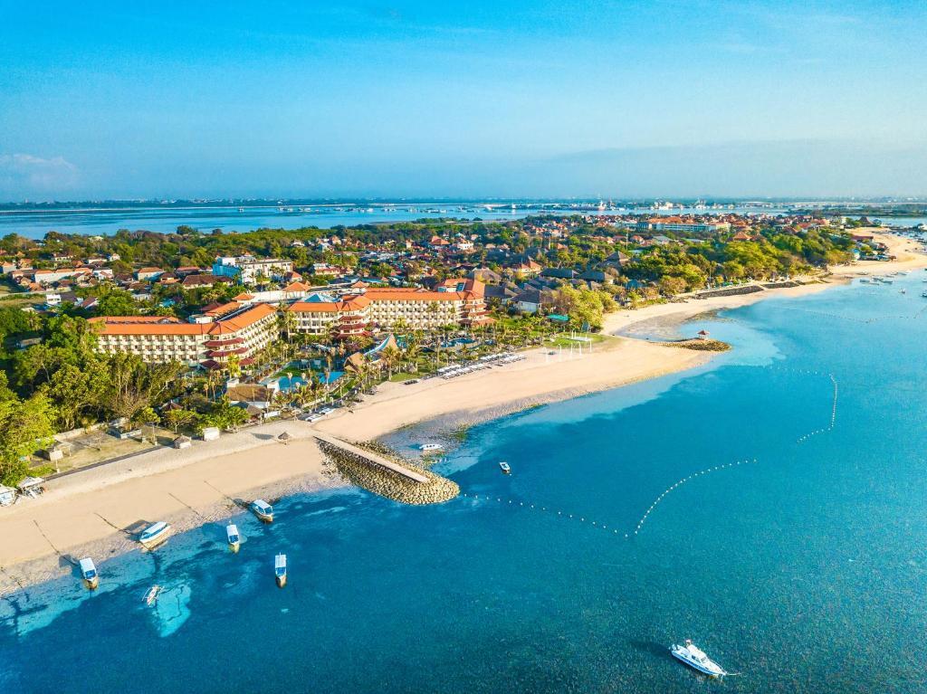 Een luchtfoto van Grand Mirage Resort & Thalasso Bali
