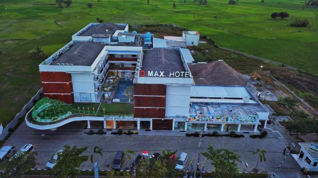 A bird's-eye view of D'MAX Hotel & Convention