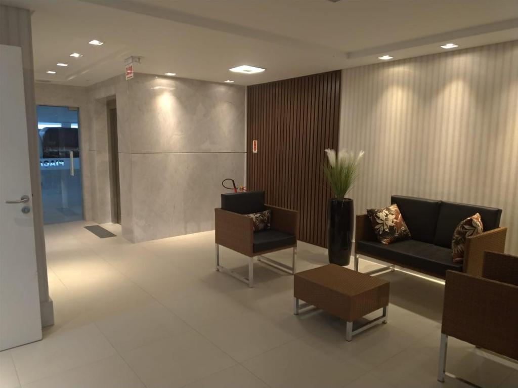El vestíbulo o zona de recepción de Apartamento Praia Ingleses-SC