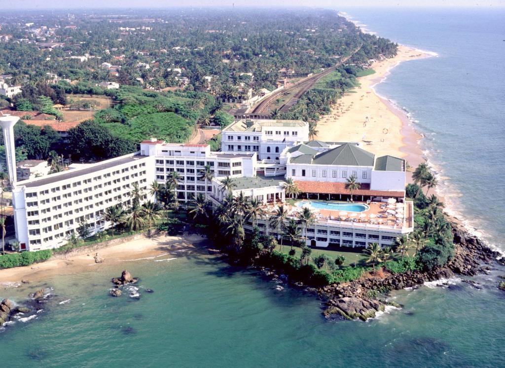 A bird's-eye view of Mount Lavinia Beach Hotel