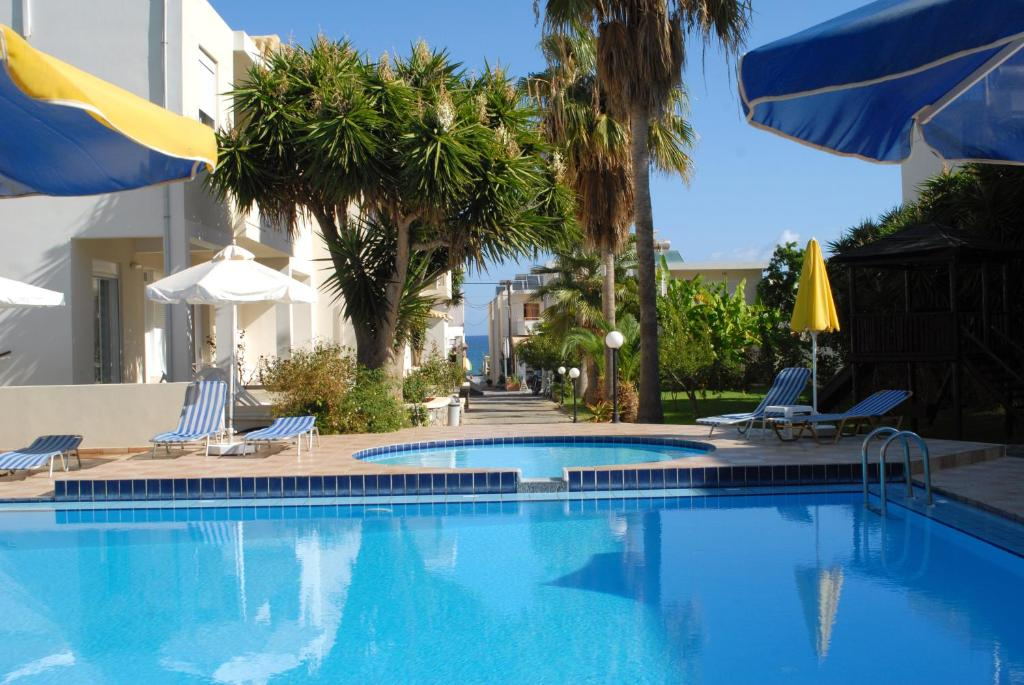The swimming pool at or near Evilion hotel
